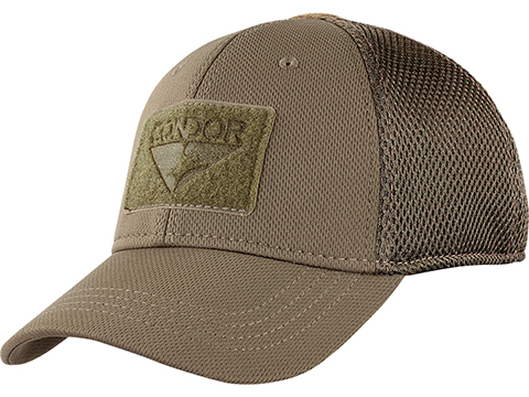 Condor Flex Tactical Mesh Cap (Color: Brown / Small/Medium)