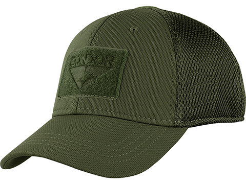 Condor Flex Tactical Mesh Cap (Color: OD Green / Small/Medium)
