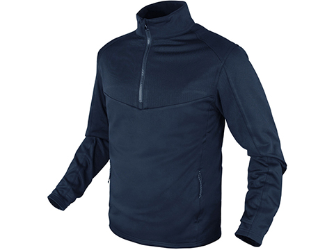 Condor Velocity Performance Long Sleeve Base Layer (Color: Navy Blue / Small)