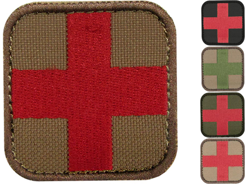 Condor Embroidered Medic Hook & Loop Patch