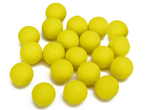 Blaze Storm 23.5mm Foam Balls for Blaze Storm and Nerf Rival foam blasters (Pack of 20)