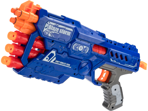 Blaze Storm Foam Blaster 7097 Single Shot Dart Pistol