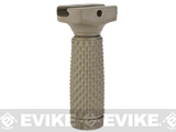 G&P Tactical Rubber Vertical Grip (Pattern: Golf Ball Pattern / Long / Sand)