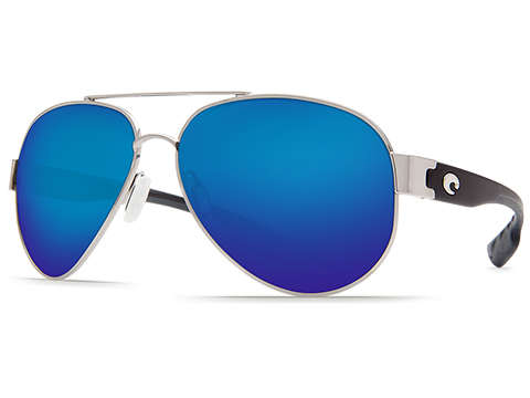 Costa Del Mar - South Point Polarized Sunglasses (Color: Palladium / 580g Blue Mirror Lens)