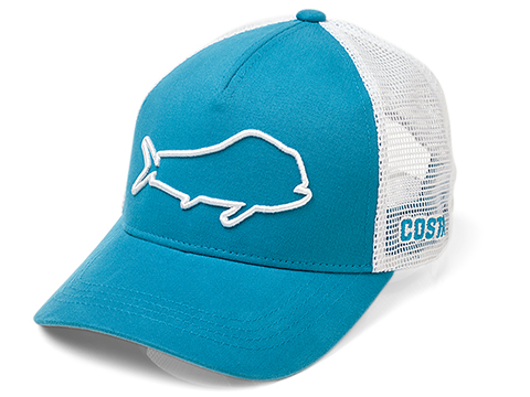 Costa Del Mar Stealth Dorado Marlin Snapback Hat (Color: Costa Blue)