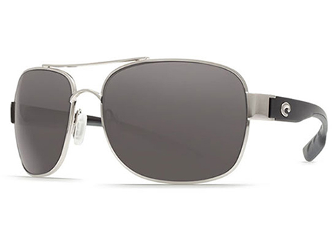 Costa Del Mar - Cocos Polarized Sunglasses (Color: Palladium / 580g Gray)
