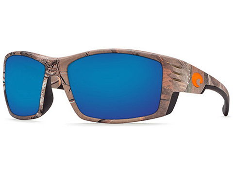 Costa Del Mar - Cortez Polarized Sunglasses (Color: Realtree XTRA Camo / 580p Blue Mirror)