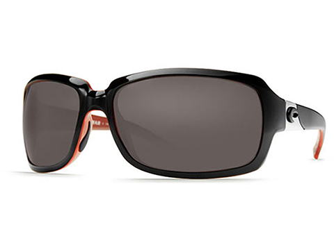 Costa Del Mar - Isabela Sunglasses (Color: Black Coral / 580p Gray)