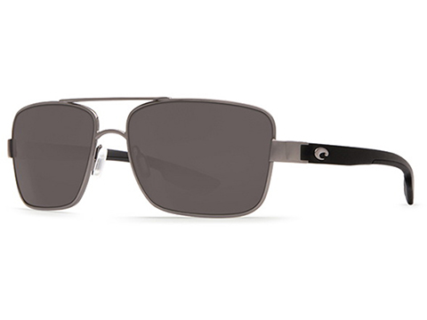 Costa Del Mar - North Turn Polarized Sunglasses (Color: Gunmetal, Matte Black / 580g Gray)