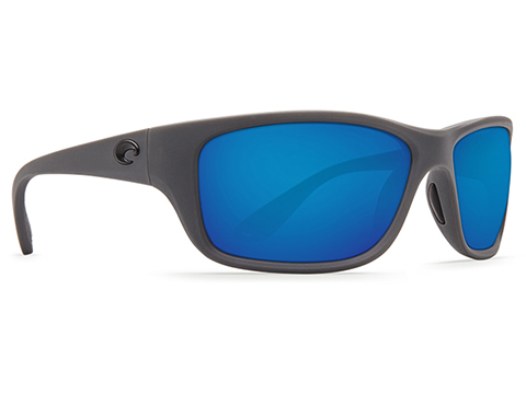 Costa Del Mar - Tasman Sea Polarized Sunglasses (Color: Matte Gray / 580g Blue Mirror)