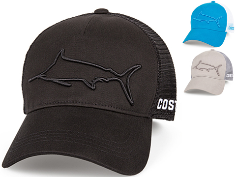 Costa Del Mar Stealth Marlin Snapback Hat (Color: Black)