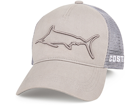Costa Del Mar Stealth Marlin Snapback Hat (Color: Gray)