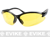 Global Vision Cougar Safety Shooting Glasses - Yellow Tint Lenses