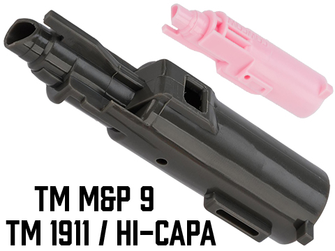 CowCow Technology Enhanced Loading Nozzle for Airsoft GBB Pistols (Model: TM 1911 / Hi-Capa / Pink Mood-Set)