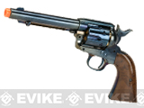 Gun Heaven CO2 Powered 1873 Single Action Airsoft Revolver (Color: High Gloss Blue)