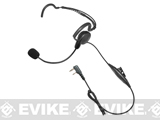 Code Red Headsets Close Quarters Boom Headset w/ PTT (Connector: Kenwood 2-Pin)