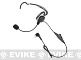 Code Red Headsets Close Quarters Boom Headset w/ PTT (Connector: Motorola 2-Pin)