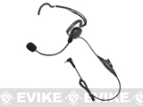 Code Red Headsets Close Quarters Boom Headset w/ PTT (Connector: Motorola 1-Pin)