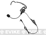 Code Red Headsets Close Quarters Boom Headset w/ PTT (Connector: Midway 2-way)