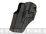 Blackhawk! Serpa CQC Concealment Holster (Model: GLOCK 19 / Black / Left Hand)