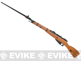 WinGun Mosin-Nagant M44 Carbine Co2 Powered Bolt Action Rifle w/ Realistic Imitation Wood Furniture