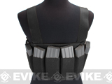 Matrix High SPEED Airsoft Chest Rig - Black
