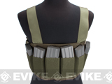 Matrix High SPEED Airsoft Chest Rig - Sage Green