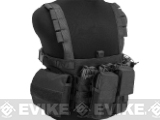 Pro-Arms High Speed Recon Chest Rig w/ Mag Pouches - Black