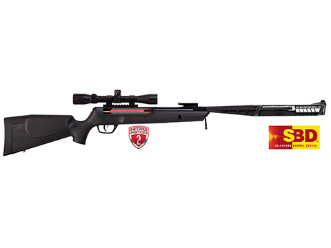 Crosman Rogue SBD .22 Break Barrel Air Rifle 3-9x32 Scope