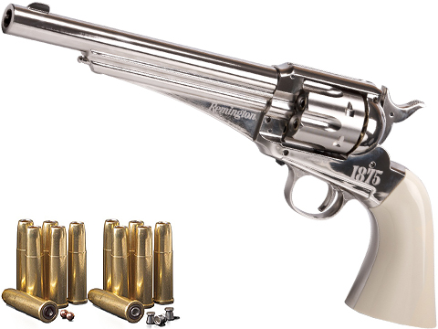 Remington 1875 CO2 Powered Single Action Revolver Air Pistol by Crosman
