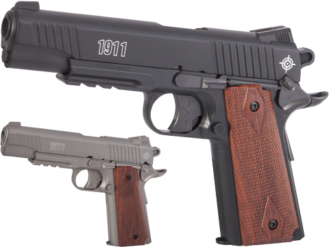 Crosman 1911 CO2 Powered Semi-Auto Non-Blowback .177 cal BB Air Pistol