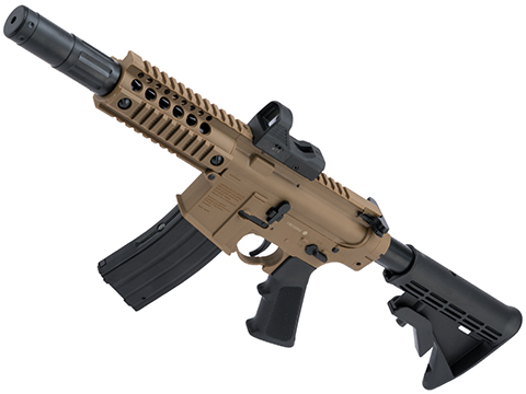 Bushmaster MPW CO2 Powered Full Auto BB Rifle w/ Red Dot (Color: Flat Dark Earth)