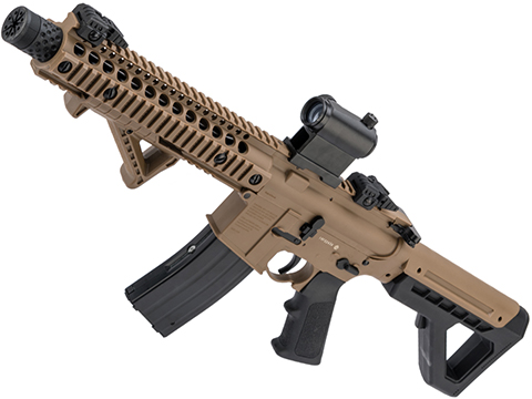 Crosman DPMS SBR Full-Auto CO2 Blowback Powered .177 BB Air Rifle (Color: Flat Dark Earth)
