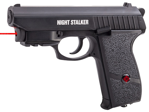 Crossman Night Stalker CO2 Semi Auto Blowback Air Pistol w/ Internal Laser Sight