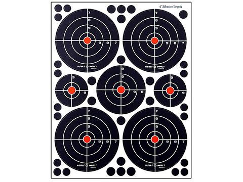 Crosman Visible Impact Splatter Targets (Qty: Combo 5 Pack)