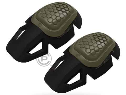Crye Precision AIRFLEX™ Impact Combat Knee Pads (Color: Green / 49)
