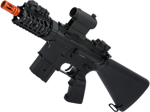 JG Li-poly Ready Stubby CQB M4 Airsoft AEG w/ Reinforced Black Metal Gearbox (Color: Black)