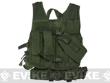 NcStar VISM Children's Tactical Vest (Color: OD Green)