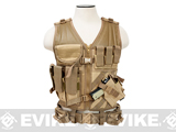 NcStar VISM Tactical Vest (Color: Tan / Large)