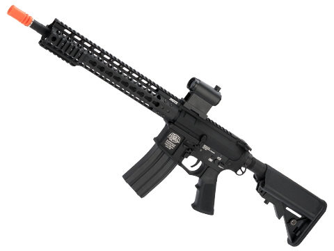 G&P Keymod Old Glory Carbine Airsoft AEG Rifle - Black
