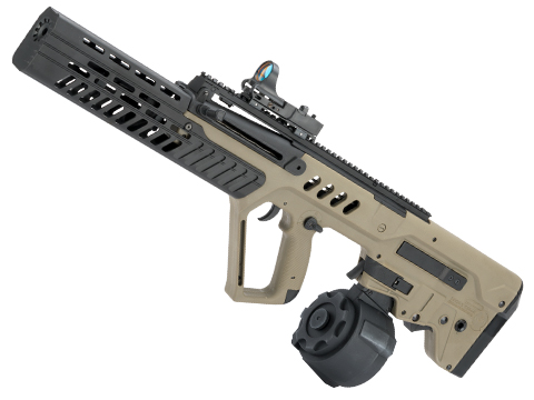 Evike.com Custom Eliminator Tavor Tar-21 AEG with Drum Magazine (Color: Tan)