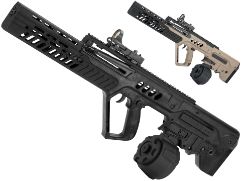 Evike.com Custom Eliminator Sportline Tavor Tar-21 AEG with Drum Magazine