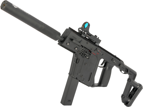 Evike.com Eliminator High Power Krytac Kriss Vector Carbine Airsoft AEG with Extended Barrel