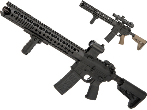 EMG / SAI Original Configuration GRY AR-15 AEG Training Rifle with LVOA Rail