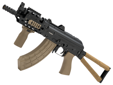 Evike.com Tyrion Class I Custom AK74u Airsoft AEG with Railed Hand-Guard