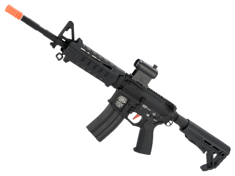 G&P Viper Custom M4 Airsoft AEG Rifle with Strike Industries Furniture