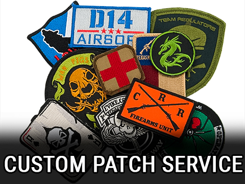 Customized Embroidered Patches for Teams, Companies and other Groups