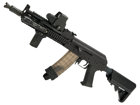 JG AK47 Dynamic Tactical RIS Airsoft AEG w/ Metal Gearbox (Color: Black)
