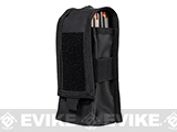 VISM by NcStar Double AR15/AK Series Magazine or Radio Pouch (Color: Black)