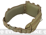 NcSTAR Battle Belt w/ Integrated Pistol Belt Set (Color: Tan)